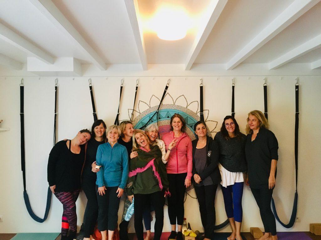 Atelier sangle Yogarose Biarritz