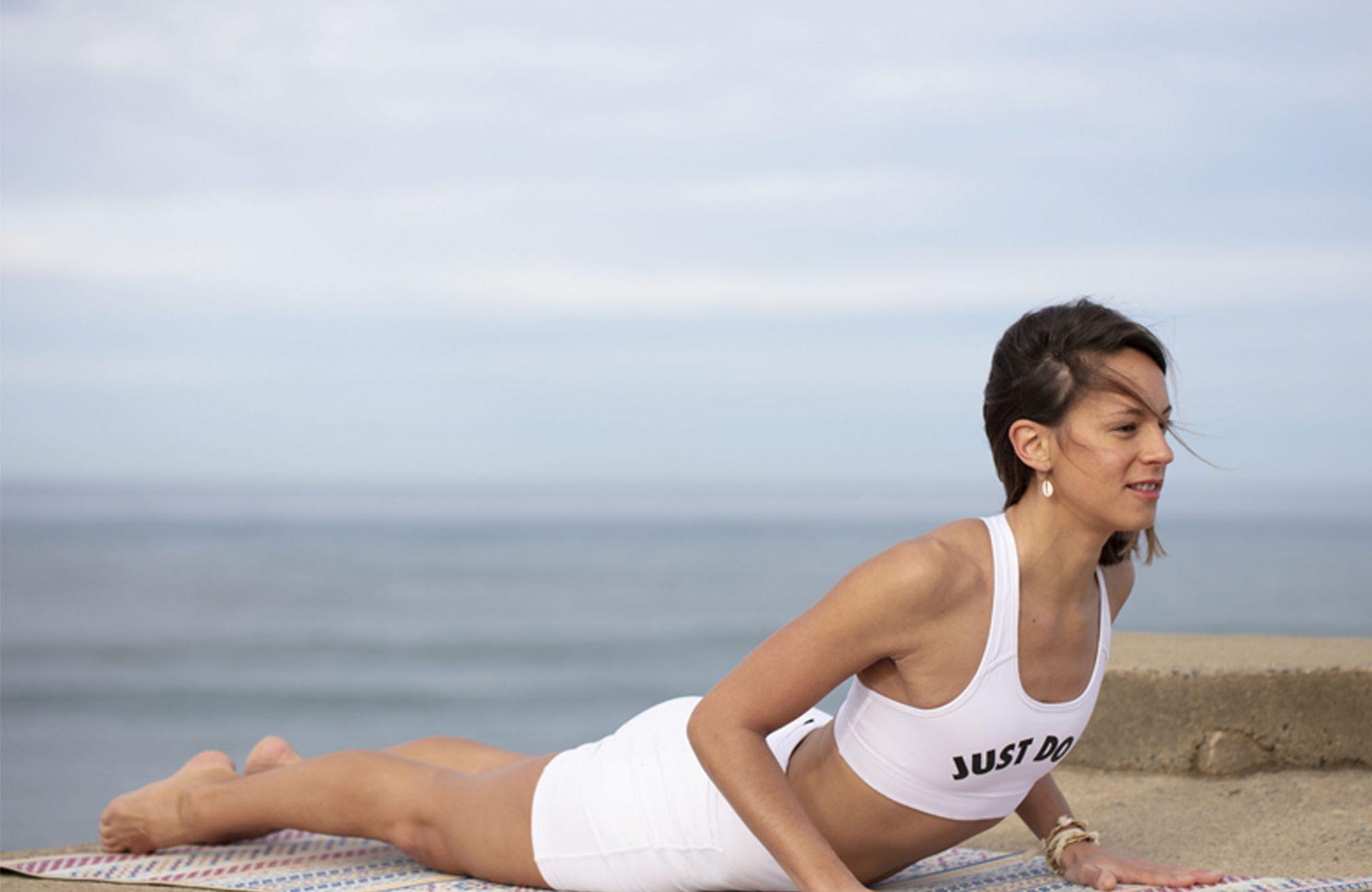 Jenni Yoga Mood Cobra Yogarose Biarritz